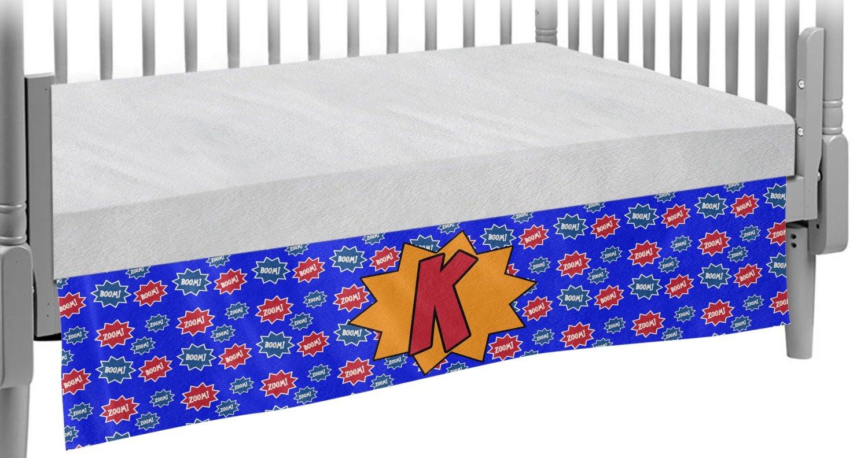 Superhero Crib Skirt (Personalized)
