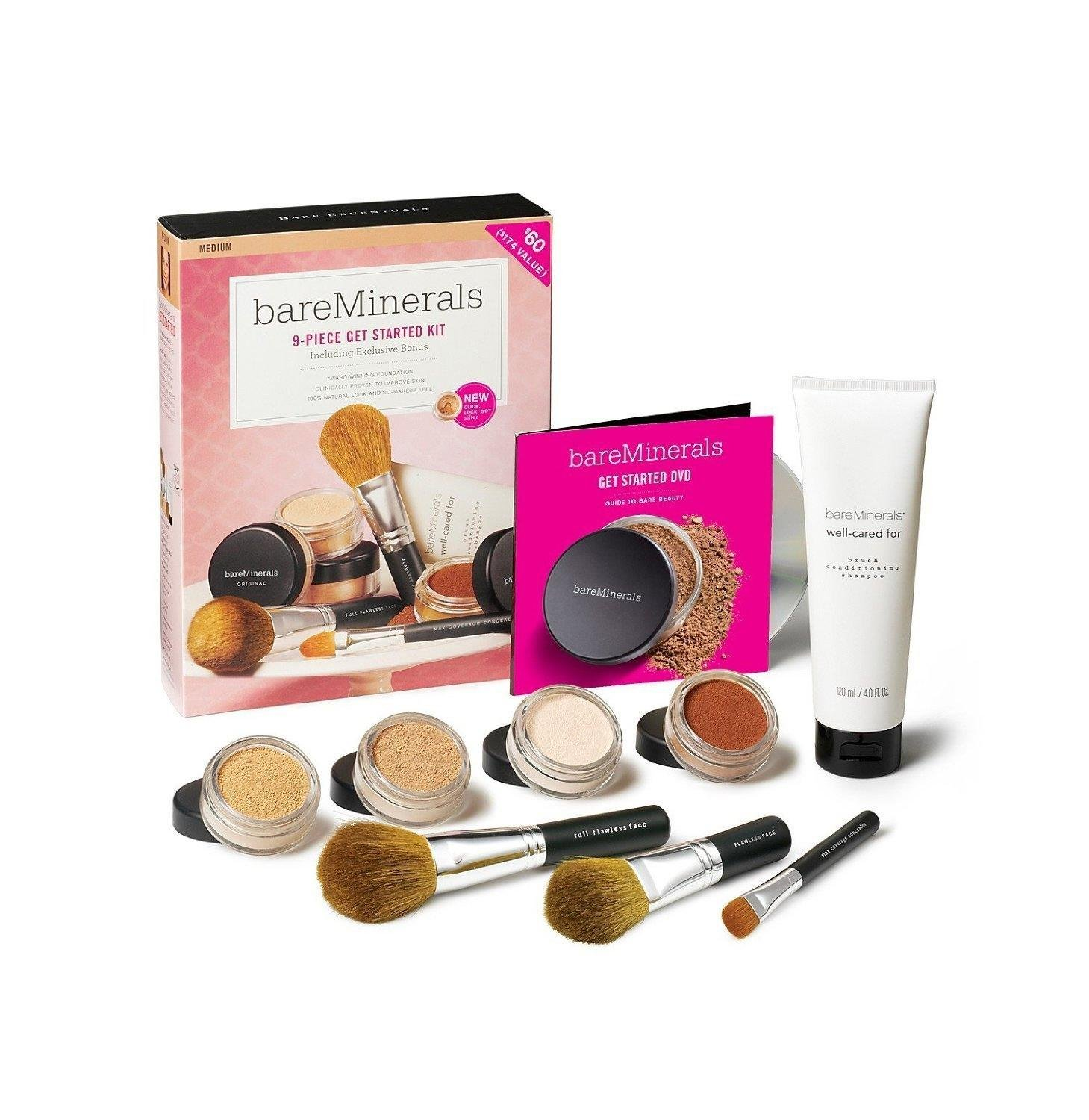 Amazon Bare Escentuals Get Started Kit Medium Makeup Tool