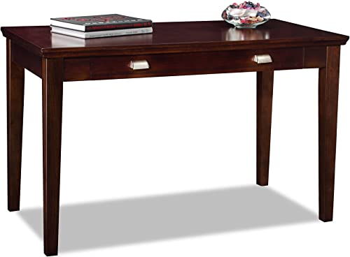 Leick Laptop Writing Desk, Chocolate Cherry Finish
