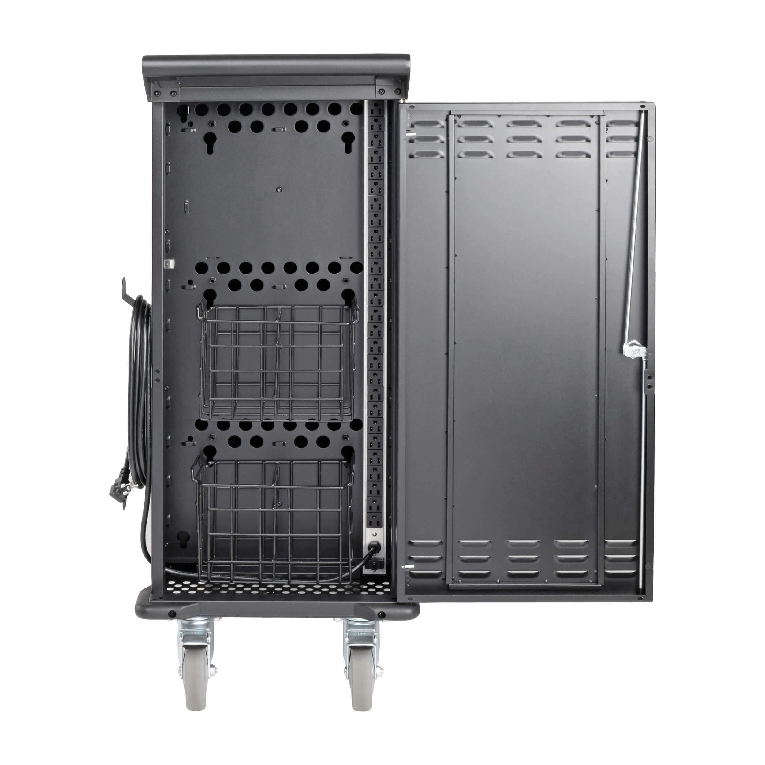 Tripp Lite 27-Port AC Mobile Charging Cart Storage Station for Chromebooks, iPads, Laptops, Tablets, Black (CSC27AC) by Tripp Lite (Image #6)