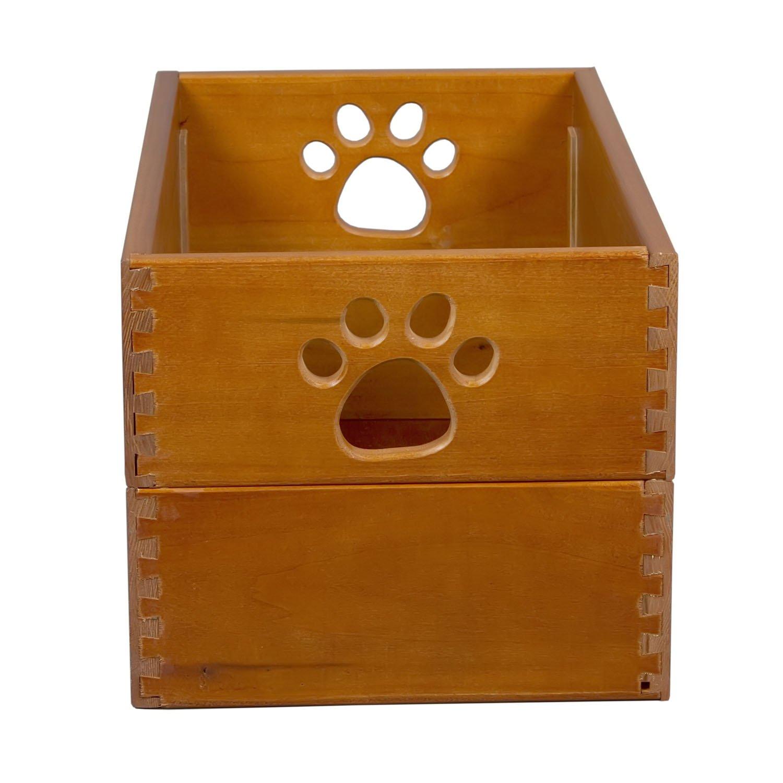 Amazon.com : Pet Toy Box Antique Black : Childrens Storage Furniture : Pet  Supplies