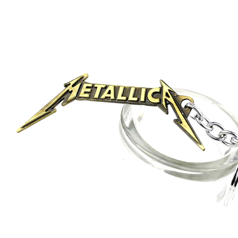 Metallica: LLavero del grupo : Dorado: Amazon.es: Juguetes y ...