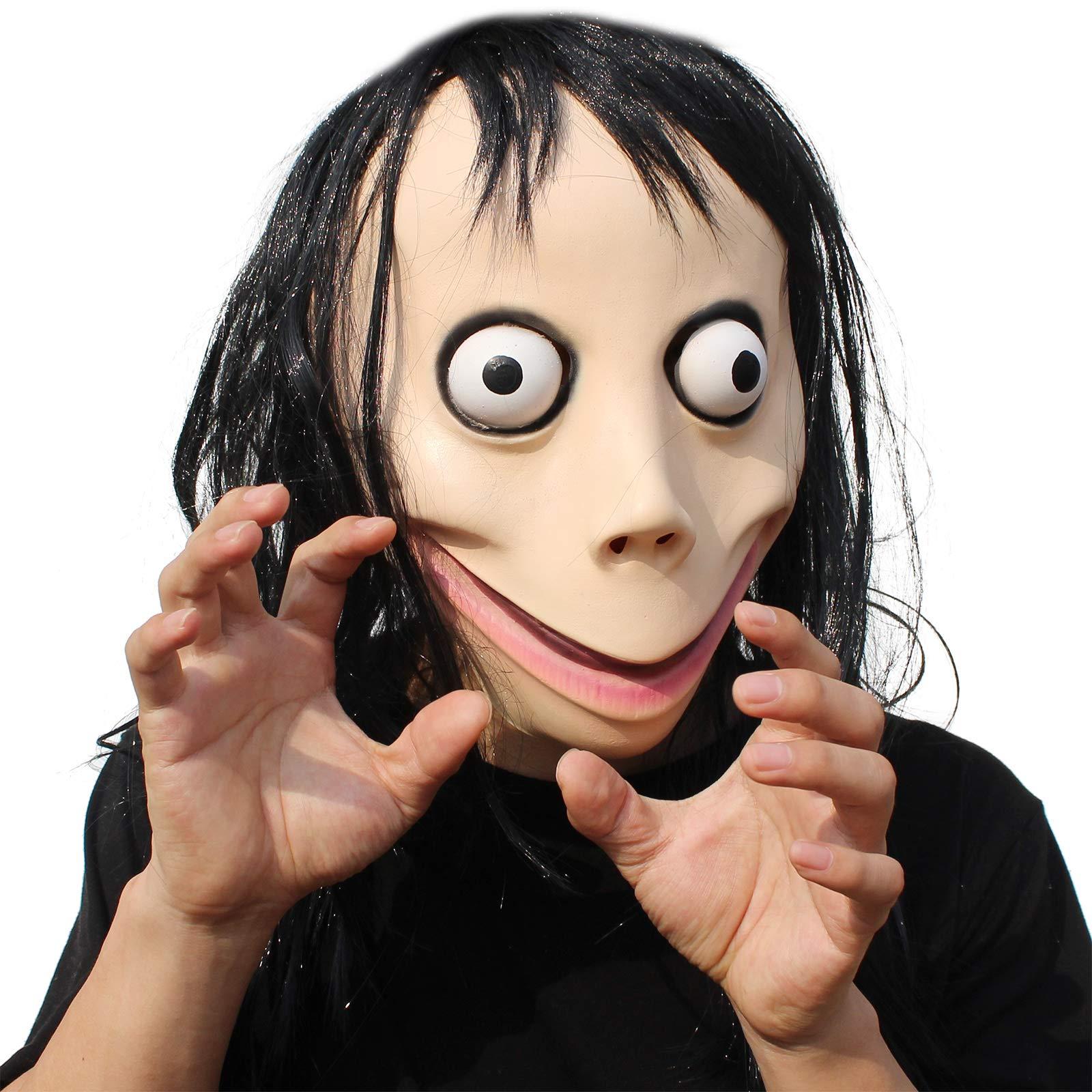 PartyHop - Momo Scary Mask Brown by PartyHop