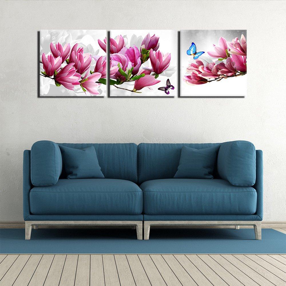 Dan Wilsons Spring Flowers Artmetalz 3 Piece Aluminum Print Set 36X54