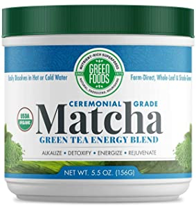 Green Foods Organic Matcha Green Tea, 5.5 Ounce