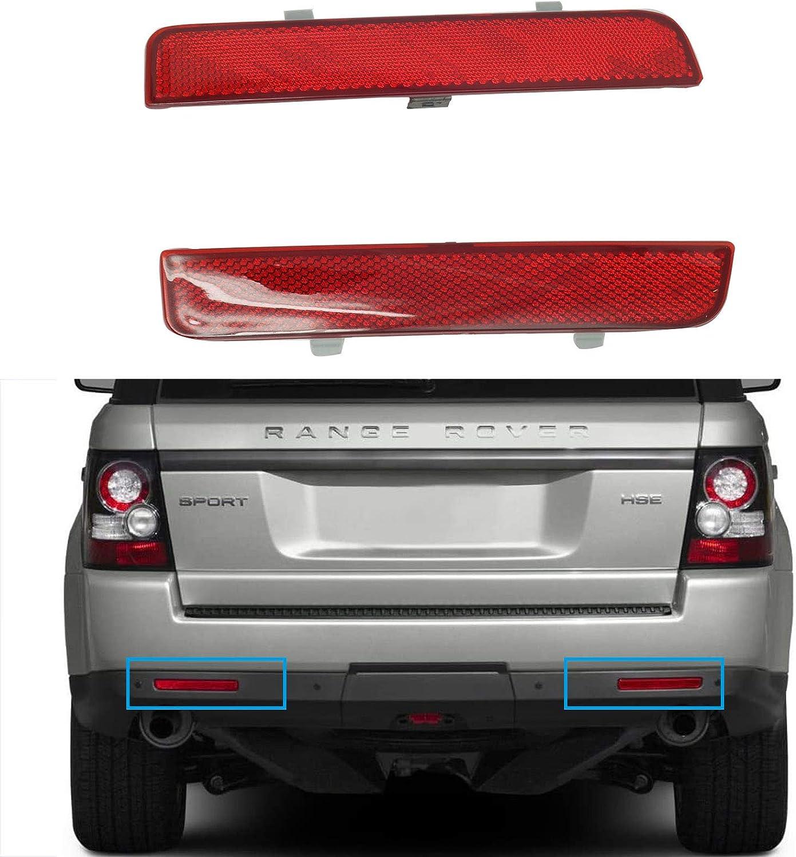 koxuyim 1 Pair Rear Left & Right Fit for Range Rover Sport 2010-2013 Rear Bumper Reflector, NOT for Full-Size Range Rover