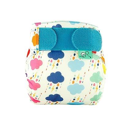 TotsBots teenyfit Star Rumble diseño reutilizable lavable pañales de 2,27 kg a 12lbs
