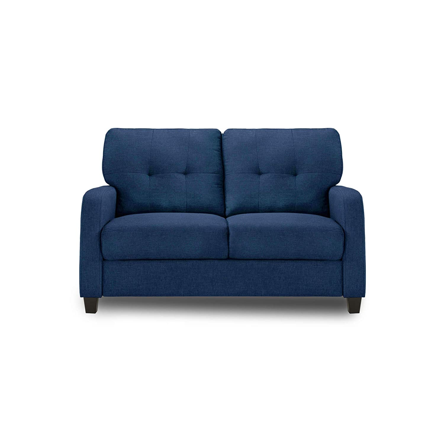 Adorn India Astor Two Seater Sofa (Blue)