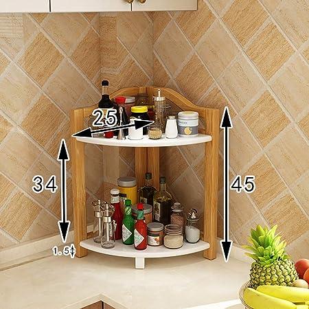 Rack da cucina, Mensola multifunzione in legno per mensole ...
