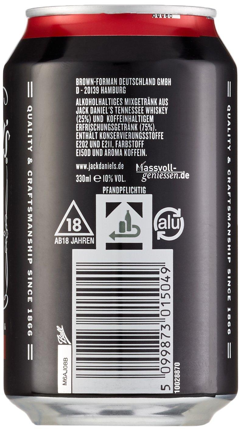Jack Daniel\'s & Cola Dose (24 x 0.33 l): Amazon.de: Bier, Wein ...