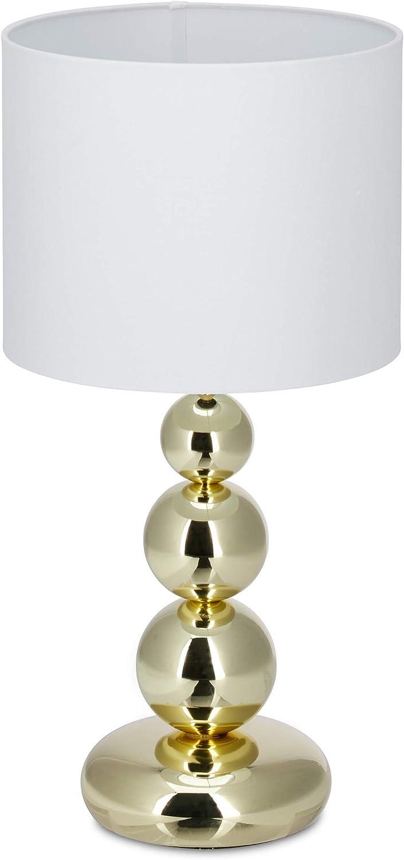 Designlampe Tischlampe Ananas silber Dekolampe Tischleuchte mit Stromkabel