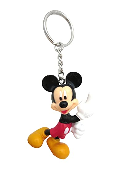 Disney Mickey Figural PVC Keyring