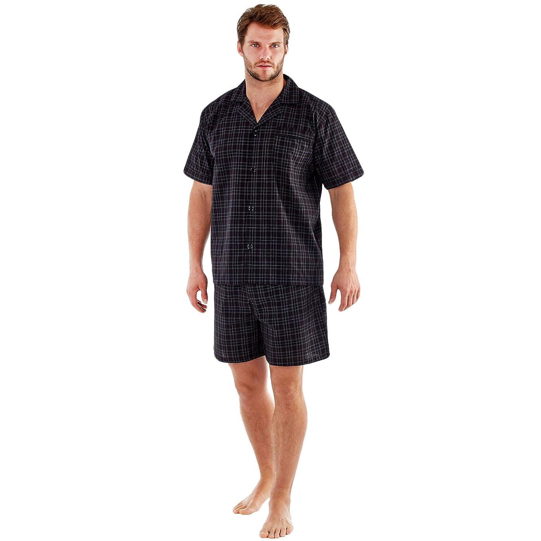 M XXL Mens Shorts Pyjamas Sleepwear Lighweight Poly Cotton Pajamas Shorts