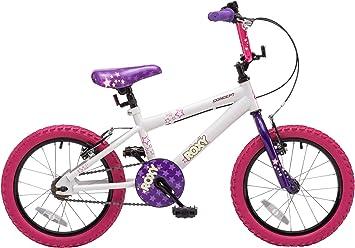 Concept Roxy Bicicleta BMX de 16 pulgadas para niñas: Amazon.es ...