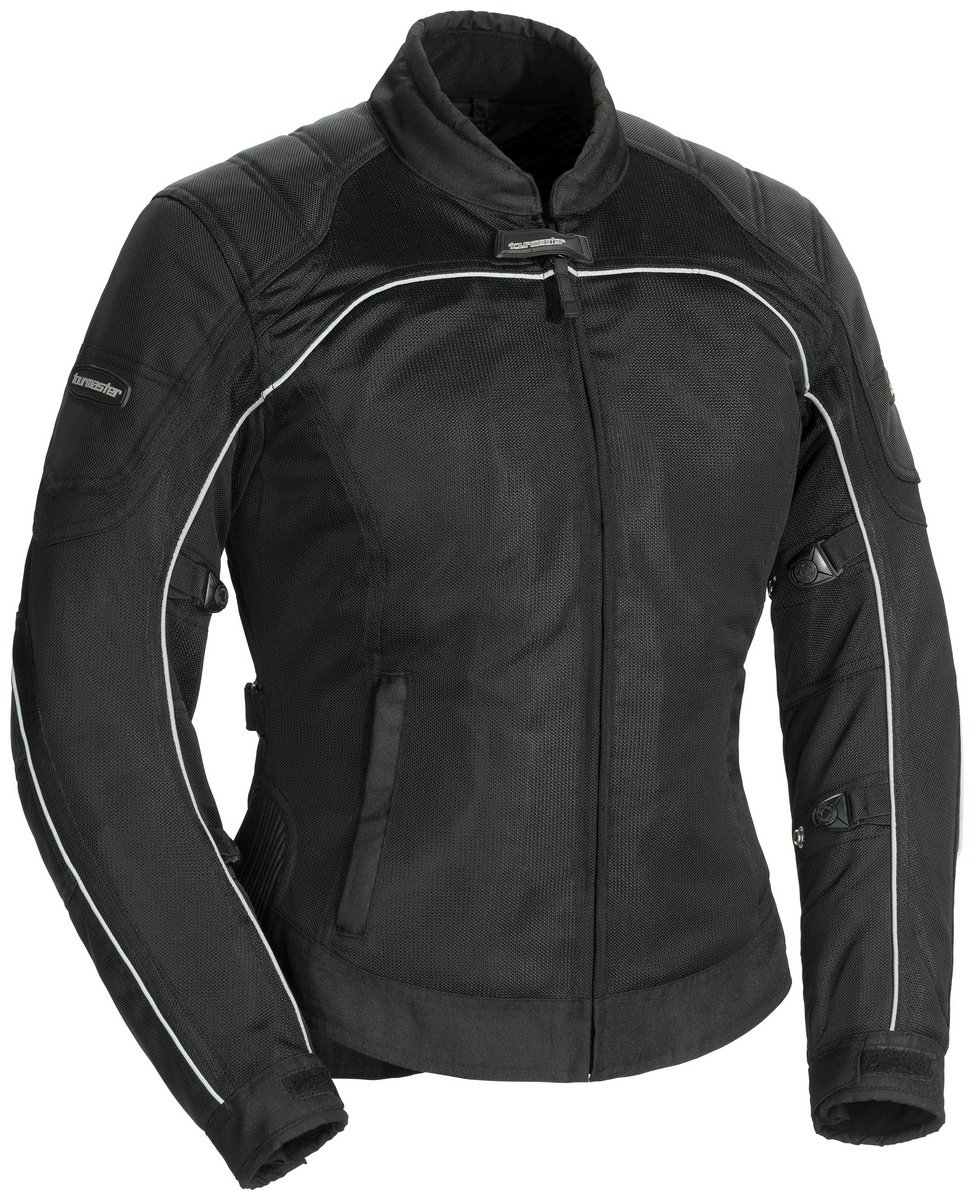 TourMaster Women's Intake Air 4.0 Jacket (Black, Large) by Tourmaster