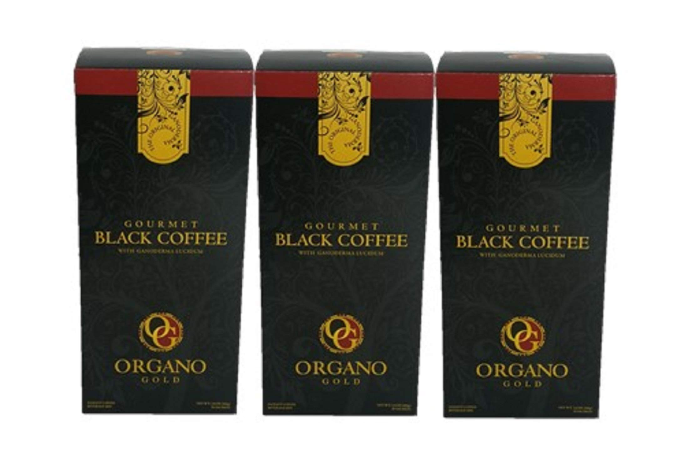 3 Box Organo Gold Black Coffee ,100% Ganoderma,Express Ship(Black coffee