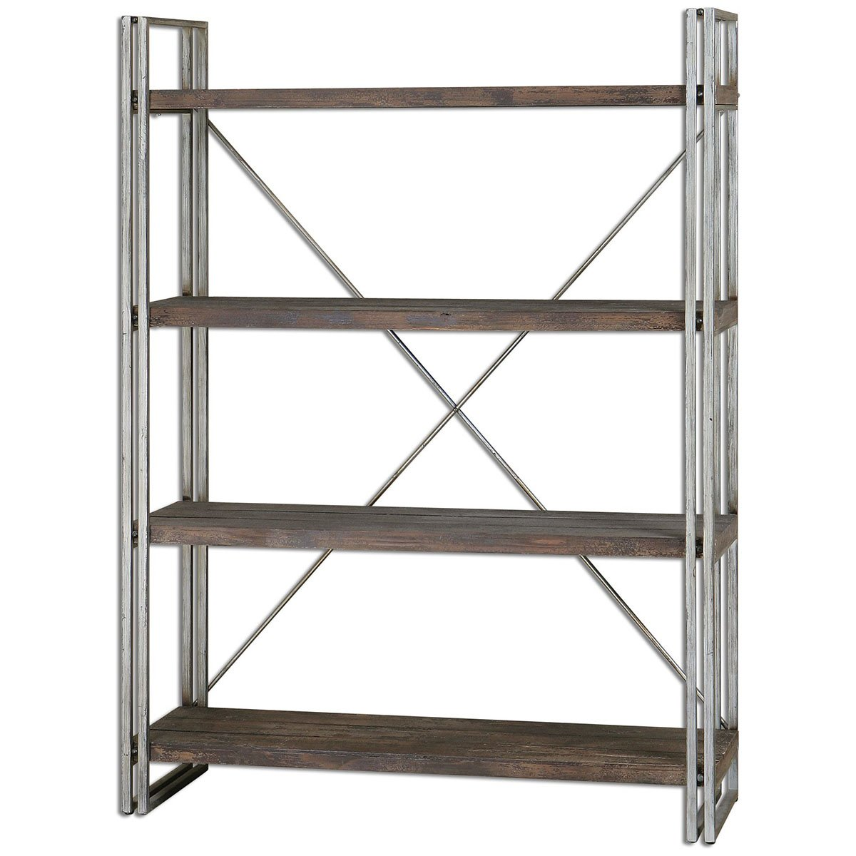 Amazon com uttermost 24396 greeley metal etagere shelf unit kitchen dining