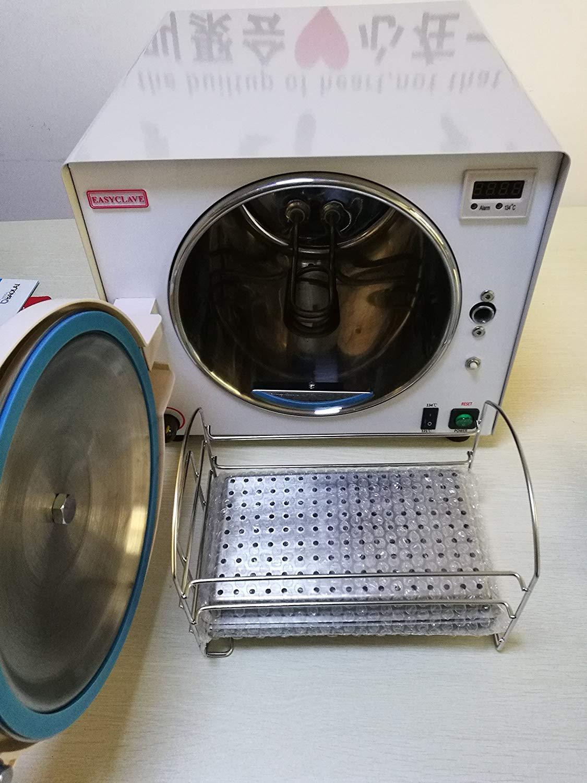 ALKITA Lab Euipment Autoclave Vacuum Steam Sterilizer 18L 110V LK-D14 by ALKITA