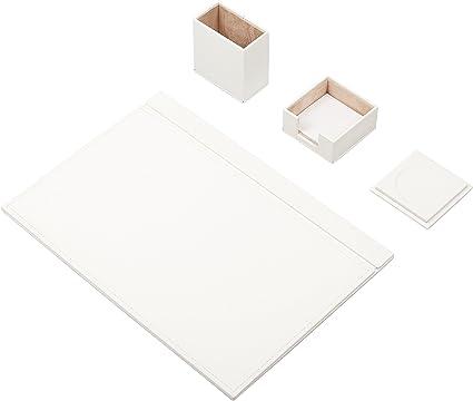 Pack de material de oficina de cuero Bowa, cuatro unidades ...