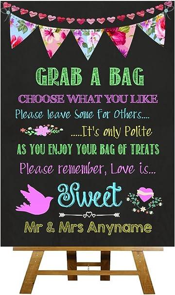 Bright diseño de frases de amor de caramelos de personalizado de ...