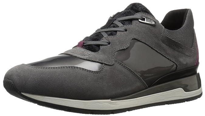 Geox D Ophira B, Zapatillas para Mujer, Schwarz (BLACKC9999), 36 EU