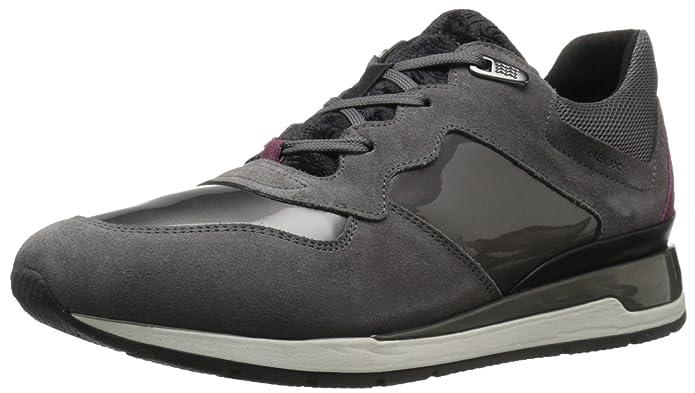 Geox D Ophira a, Zapatillas para Mujer, Schwarz (BLACKC9999), 35 EU