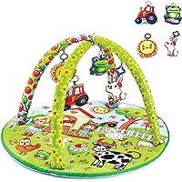 Babyjem Oyuncaklı Oyun Minderi, Çiftlik Yuvarlak