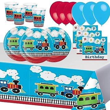 Fiesta de Cumpleaños de Tren Todos a Bordo Vehículo ...