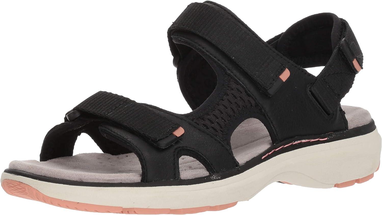 Clarks Women's Un Roam Sandal Sport New mail order Step Low price