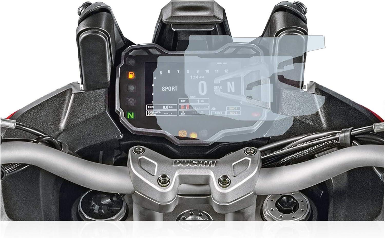 Anti-Fingerprint 2015 Displayschutz-Folie Matt Anti-Reflex BROTECT 2X Entspiegelungs-Schutzfolie kompatibel mit Ducati Multistrada 1200S