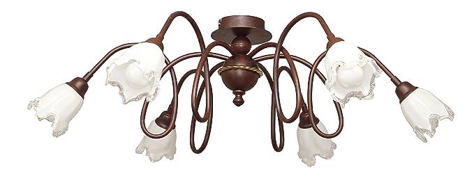 valfb35118 PL6 Doge 3 Made in Italy plafón lámpara de techo ...