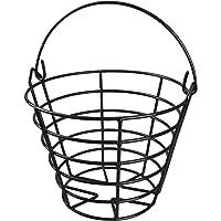 KOFULL Piłka golfowa metalowy koszyk do piłki golfowej z uchwytem - mieści 50 piłek