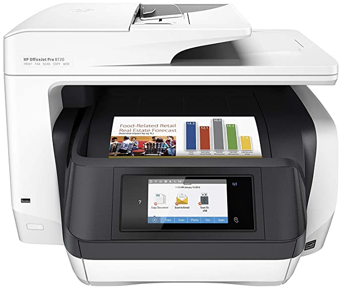 HP Officejet Pro 8710 All-in-One - Impresora multifunción color ...