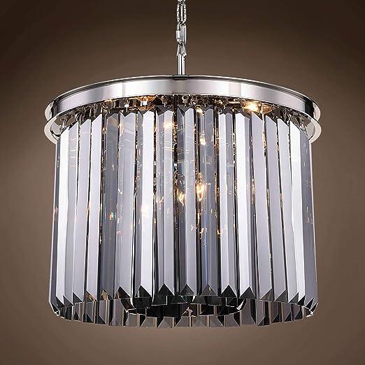 Amazon.com: Crystal Prysm - Lámpara de techo colgante de ...