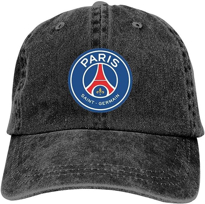SDASE Paris Saint-Germain - Gorra de béisbol para Hombre y Mujer ...