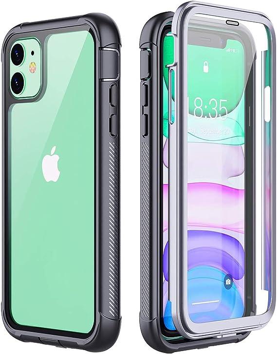 Coofine Iphone 11 Case Full Body Heavy Duty Protection Elektronik