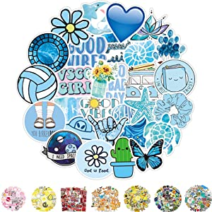 Vinyl Stickers, Waterproof Laptop Sticker 50 Pcs, Cute Funny Water Bottles Stickers for Women Teens Girls Boys Adults Graffiti Decal Stickers Cool Trendy Stickers for Laptop Hydro Flask Skateboard