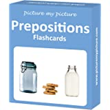 Prepositions Flash Cards: 40 Positional Language Photo Cards