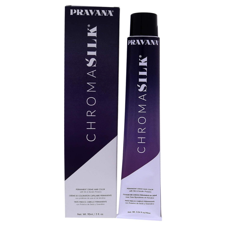 Pravana ChromaSilk Creme Hair Color with Silk & Keratin Protein 8 Light Blonde