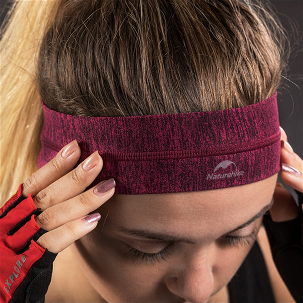Sport Headband Sweatband Head Bands for Yoga Running Cycling Tennis Outdoor Working out Gym Non Slip