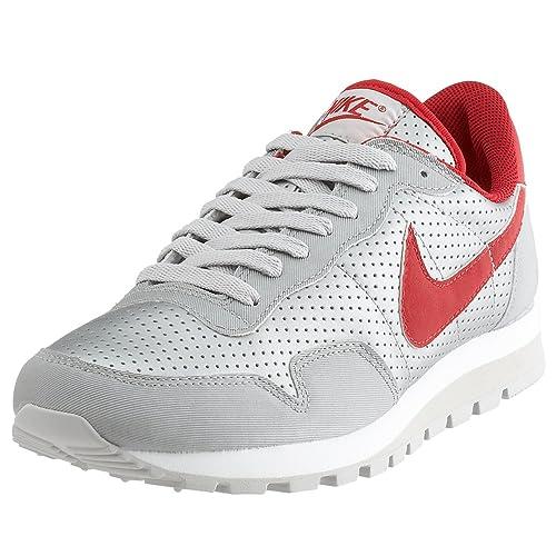 online store e843e 94ed2 Nike Metro Plus Sport Scarpe, ArgentoRossoGrigioBianco, Argento  (SilberRotGrauWeiß), 8.5 Amazon.it Scarpe e borse