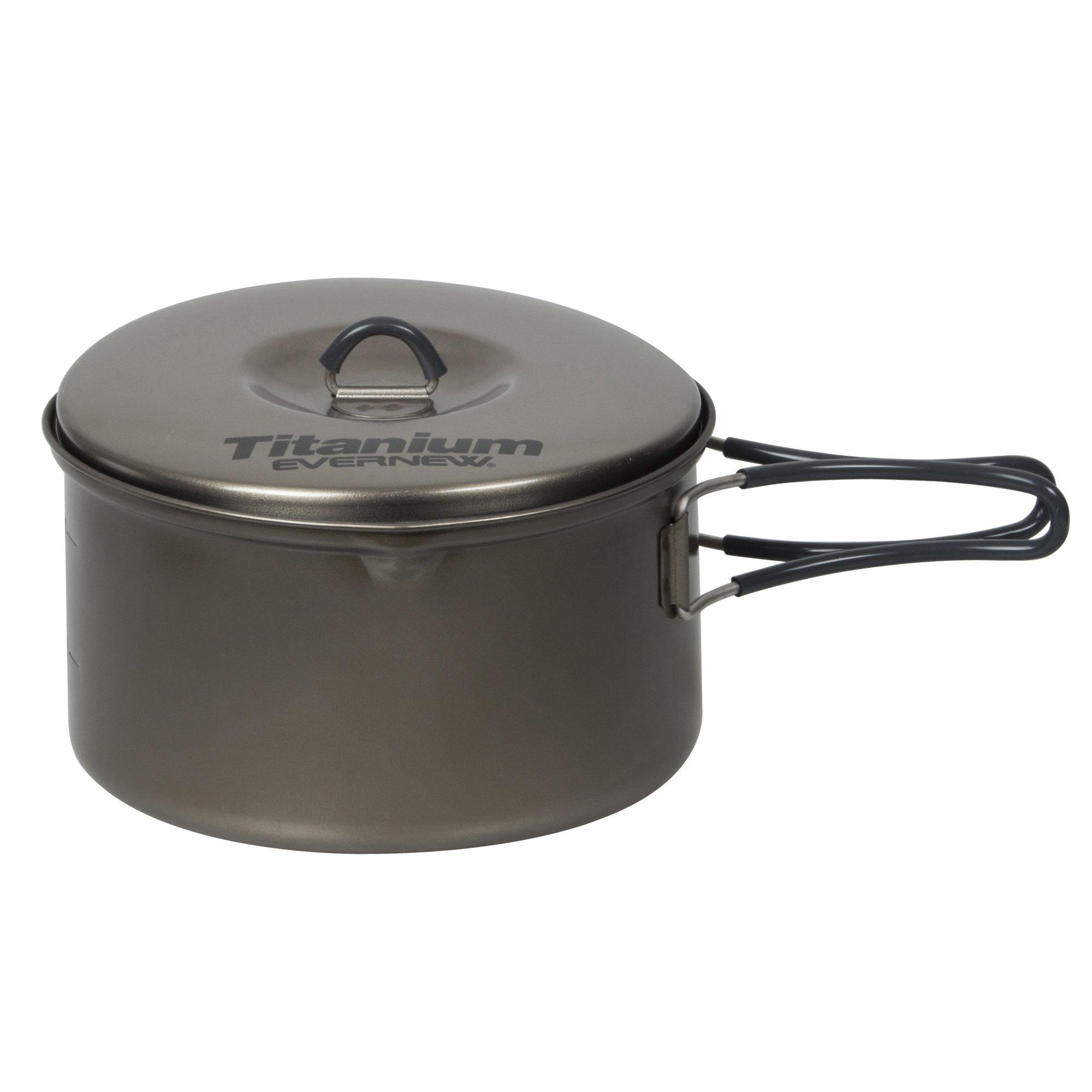 Evernew Titanium Non-Stick Pot, 1.3-Liter by EVERNEW