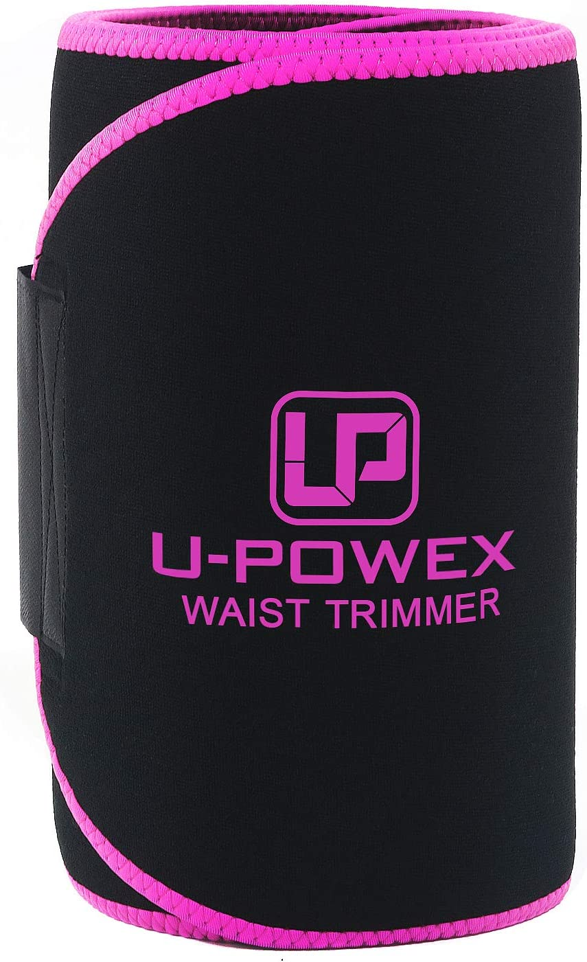 UPOWEX Waist Trainer for Women Men Premium Waist Trimmer Include Carry Bag 100 Life Time Guarantee