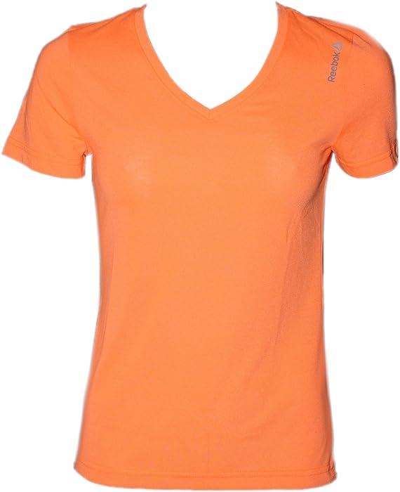 37705cb70e70bf Reebok Damen Sport T-Shirt AJ3363 Wor Supremium Tee  XS   Amazon.de ...