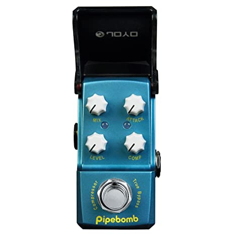 JOYO JF-312-PipeBomb-Compressor - Pedal de efecto compresión para guitarra,