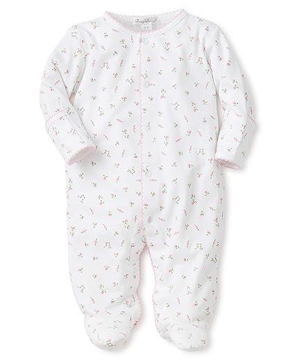 c3a279ff957 Amazon.com  Kissy Kissy Baby Boys  Garden Roses Print Footie  Clothing