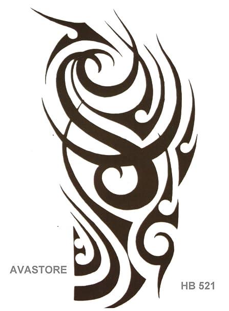 Tatuajes temporales Maori - Tatuaje efímero Maori: Amazon.es: Belleza