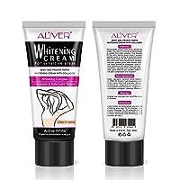 Underarm White Cream,Body Cream for Armpit, Cream for Skin, Neck, Bikini, Thigh...