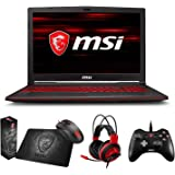"MSI GL63 8RC-068 (i7-8750H, 16GB RAM, 128GB SATA SSD + 1TB HDD, NVIDIA GTX 1050 4GB, 15.6"" Full HD, Windows 10) Gaming Notebook"