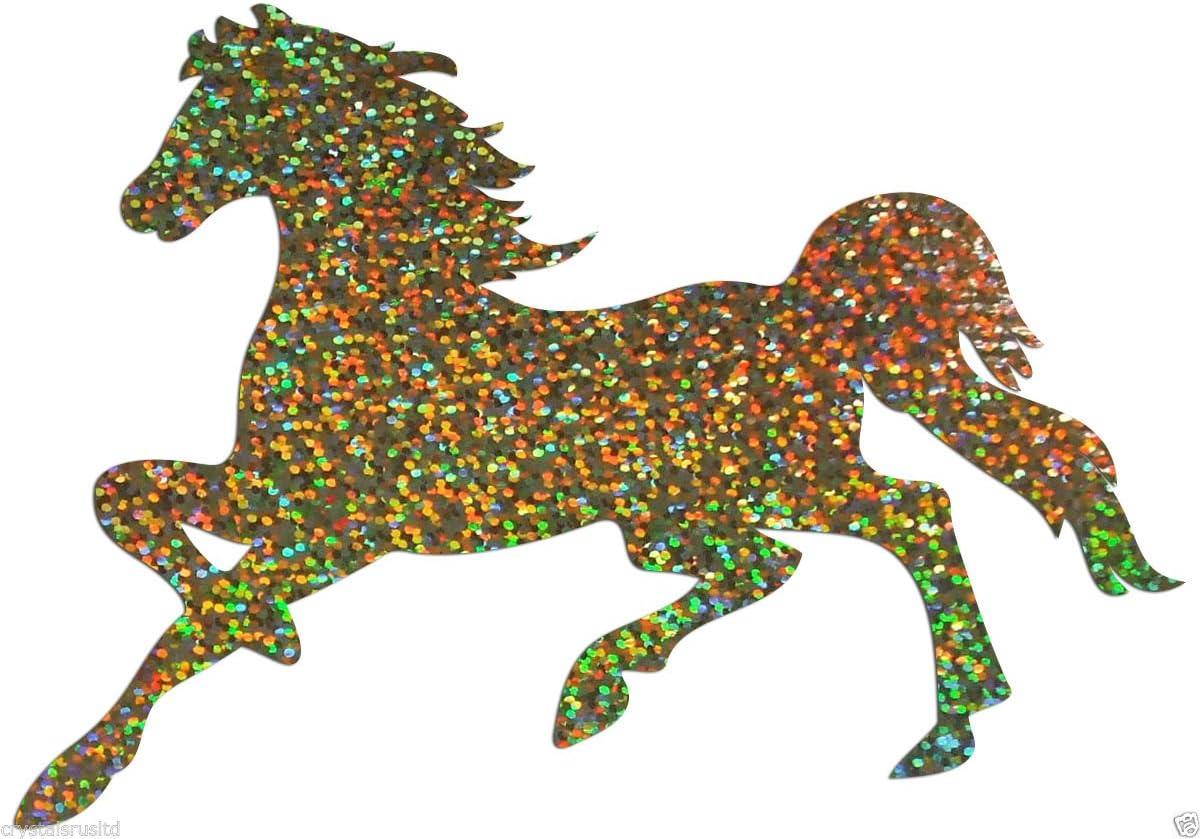glitzernd B/ügelbild galoppierendes Pferd Junggesellinnenabschied f/ür T-Shirt Party gold